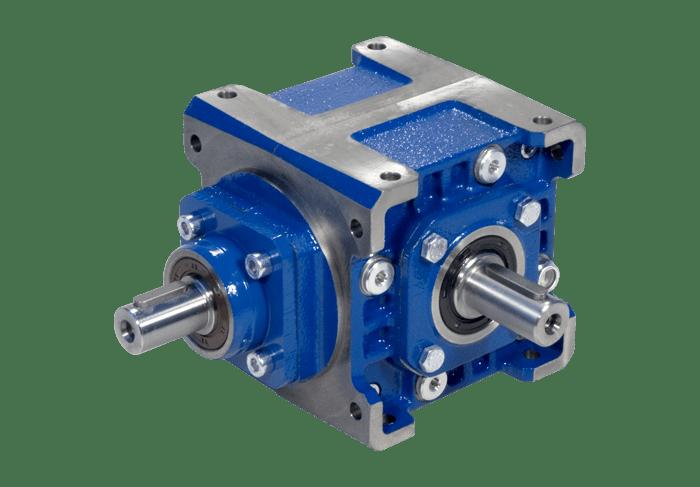 Flachaufsteckgetriebe Kegelradgetriebe Serie R
